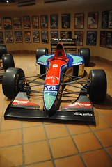Thierry Boutsen's 1993 Jordan 193 (zawtowers) Tags: history cars public private season one 1 antique iii grand prince f1 racing monaco jordan collection 1993 prix vehicles rainier formula motor formula1 iconic thierry voitures 193 opened motoring anciennes fontvielle boutsen outpaced