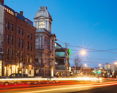 Commercial Street, February 2016 (Corey Templeton) Tags: city winter night portland other unitedstates maine newengland portlandmaine oldport commercialstreet customhouse