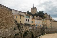20160423 Provence, France 02584 (R H Kamen) Tags: street france architecture canal belltower clocktower vaucluse perneslesfontaines pernes buildingexterior provencealpesctedazur rhkamen