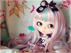 Tea Party (Pliash) Tags: pink party cute japanese doll tea lolita cupcake marshmallow kawaii loli blythe tbl takara tomy