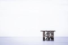 Los Pjaros II (ribadeluis) Tags: costa bird mar asturias ave pajaros minimalism minimalismo lastres manfrotto extender cantabrico pantalan canonef70200mmf28lusm copito eos6d principadodeasturias canoneos6d sedado