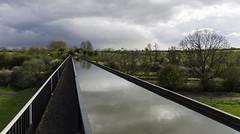 Week Seventeen - lead the eye (Damien Walmsley) Tags: water clouds reflections viaduct towpath edstone leadtheeye edstoneviaduct