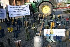 Schwerin_01 (aktionagrar) Tags: landwirtschaft aktion milch whes agrar preise schwerin abl farmsaver