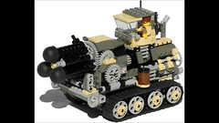 Hog Heavy Diesel Artillery Mk. XXV (video) (aillery) Tags: up wheel self spring gun carriage control lego diesel wind military ground mortar weapon cannon vehicle artillery motor arrow shooter revolver hog rotating dart carrier spigot motorized propelled revolving tracked howitzer gatling nonelectric dieselpunk terradyne crayven