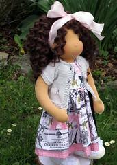 Sophie (Snezinka-Snowflake) Tags: waldorf waldorfdoll steinerdoll naturaltoys waldorfinspireddoll