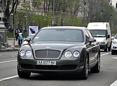 AA0377BK (Vetal 888 aka BB8888BB) Tags: continental ukraine kyiv aa bentley licenseplates  flyingspur   aa0377bk