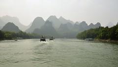 GUILLIN - Riu Li (alicia.serra) Tags: vacances paissatge xina guillin creuer riuli barcasses