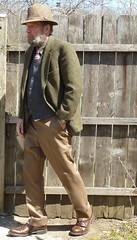 4-9-2016 Today's Clothes (Michael A2012) Tags: wood hat country style doherty mens eddie harris knits donegal tweed handwoven woolens