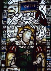 Retford - St Swithun's - Kempe Glass (Glass Angel) Tags: tower faith stainedglass warmemorial nottinghamshire retford kempe stswithun