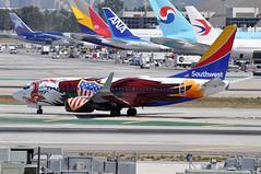 N918WN   LAX (airlines470) Tags: airport lax 737 southwestairlines 737700 7377h4 n918wn losangelesinternationalairportlax ln2572 msn29843