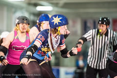 CNYRD_Wonder_Brawlers_vs_South_Shire_Battle_Cats_40_20160402 (Hispanic Attack) Tags: rollerderby battlecats srd cnyrd centralnewyorkrollerderby southshirerollerderby