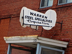 Warren Steel Specialties Corporation, Warren, OH (Robby Virus) Tags: ohio sign factory steel corporation business signage warren specialties