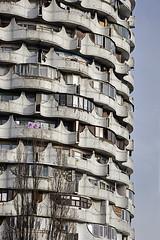 (ilConte) Tags: tower architecture concrete cement modernism architektur socialist cemento architettura socialism moldova cccp moldavia chiinu romanita