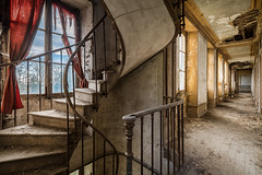 Fading day by day (Yann PESIN) Tags: urban abandoned path decay exploring places secession ruine chateau exploration oblivion urbex urbaine oubli urbexing