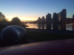 IMG_1297 (Sweet One) Tags: sunset canada vancouver bc britishcolumbia falsecreek