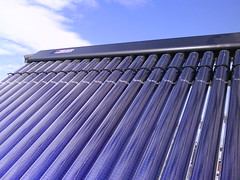 Tubes solar thermal (C) Norfolk Solar