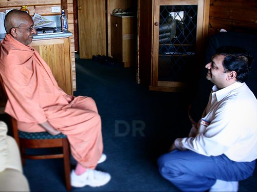 Feb 21,2008 - Nelson,NZ Guruhari Swamiji is always concerned for the well-being of youths. Swamiji wanted us to do seva of all youths who come in our contact, especially those who come from India to work or study. He was concerned that if these youths fac