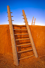 Kiva Ladders 2 (Jerry Fornarotto) Tags: old travel sky newmexico southwest building history tourism archaeology wall architecture clouds outside ancient ruins native outdoor indian traditional pueblo scenic culture tribal historic nativeamerican adobe historical civilization ladder archeology anasazi cultural hopi kiva dwelling puebloan bernalilo coronadohistoricsite jerryfornarotto aurorahdr