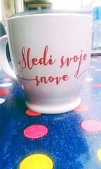 Follow your dreams (svrca29) Tags: red white cup coffee time dream follow your dreams svoje sledi snove