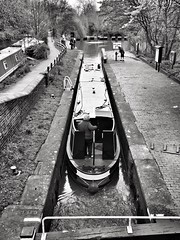 Narrow Boat (Hayzphotos) Tags: boat blackwhite olympus oxford narrowboat omd project365 mirrorless em5mk2