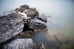 Rocked (randyr photography) Tags: longexposure rocks lakemichigan muskegon lakeharbor puremichigan leebigstopper lovemuskegon