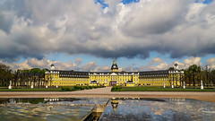 Rain coming? (.: mike | MKvip Beauty :.) Tags: blue castle water yellow clouds reflections germany spring europe dof zoom availablelight sony naturallight palace handheld alpha karlsruhe rainclouds mth oss aspherical sonyalpha schlosskarlsruhe karlsruhecastle powerzoom sonyg karlsruhepalace emount mkvip selp18105g epz18105mmf4goss sel18105g sonyalpha6000 ilce6000 sonyilce6000 sony6000 6000 sonyepz18~105mm4goss