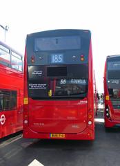 GAL MHV6 - BU16OYO - REAR - BV BELVEDERE GARAGE - THUR 28TH APR 2016 (Bexleybus) Tags: new bus london buses ahead volvo garage go egyptian belvedere bv etb mcv goahead evoseti mhv6 bu16oyo