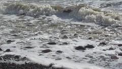 High tide at Biggar Bank (billnbenj) Tags: video surf waves spray cumbria barrow hightide irishsea walneyisland biggarbank