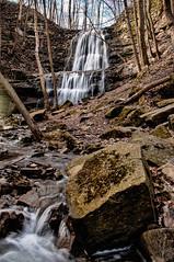 Sherman Falls (Knarr Gallery) Tags: trees ontario nature water creek landscape waterfall spring nikon hamilton cascade ancaster d300 spencerfalls 18200mmf3556gvrii