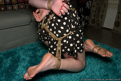 534_3449 (master_ftt) Tags: suspension bondage barefoot tiedup amateur blindfolded shibari
