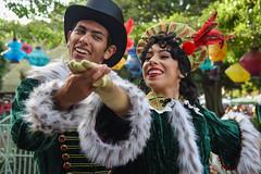 A Christmas Fantasy (EverythingDisney) Tags: dancers disneyland disney parade performers dlr acf carolers achristmasfantasy achristmasfantasyparade