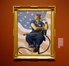 Rockwell, Rosie the Riveter, 1943