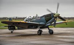 SJL_3091 - Flickr.jpg (lawnetphoto) Tags: plane aircraft royal rollsroyce merlin ww2 duxford spitfire airforce propeller