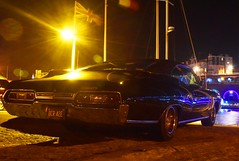 Impala (john Truman) Tags: black chevrolet car night lights muscle american impala cruiser