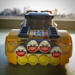 Rallycar frontal (Spongeinside) Tags: lego airborn rallycar expedite octan 60113