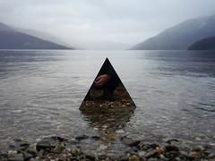 mountainous (wild goose chase) Tags: mirror scotland lochlomond rowardennan