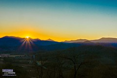 Mountain Sunset (The Suss-Man (Mike)) Tags: sunset sky mountains nature rural georgia skyvalley northgeorgiamountains rabuncounty thesussman sonyslta77 sussmanimaging