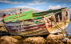 Old Boat @ Anavisos (tmavra) Tags: old boat rusty 365project