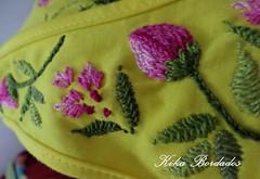 KikaBordados Kika  Krauss 076 (Kika Bordados by Angelica Krauss) Tags: pink flowers flores handmade embroidery laranja crochet tshirt amarelo bordados manualidades croche embroider feitomo camisetabordada camisetabordadamo bordadosfeitomo kikabordadoskikakrauss