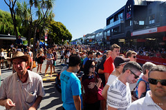 20160206-03-Running of the Wools crowd (Roger T Wong) Tags: city travel newzealand summer people crowd nz southisland otago queenstown 2016 sony2470 rogertwong sel2470z sonyfe2470mmf4zaosscarlzeissvariotessart sonya7ii sonyilce7m2 sonyalpha7ii