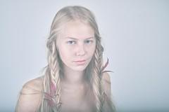 () Tags: girl leaves hair