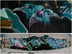 Sortis de nulle part (Nah One) Tags: terrain graffiti decayed 2016 friche dsaffect stime urb1 nah