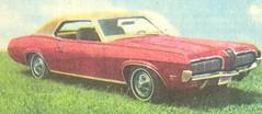Mercury Cougar (praguehook) Tags: red usa cars mercury cougar