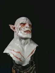 Narin : Azog Bust (OBigFace) Tags: bust hobbit narin azog narinstudio