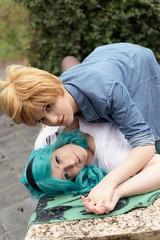 DSC_4088 (XRavenheartPH) Tags: moon cute girl couple foto cosplay persone haruka di yuri cosplayer sailor neptune uranus gruppo michiru bambino allaperto