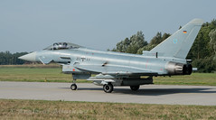Eurofighter EF2000 Typhoon (Angle-of-Attack) Tags: germany airplane fighter aircraft aviation jet eurofighter rostock typhoon gaf 2015 laage 3117 ef2000 steinhoff as010 theovanvliet tlg73