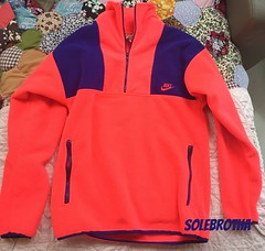 NIKE FLEECE SWEAT VINTAGE (sole.brotha) Tags: canada face training vintage market quality id north running nike og made infrared ultramarine flea fleece limited rare act trainer supreme