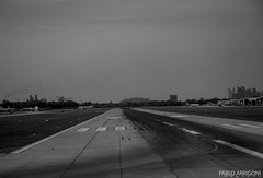Ready to take off (Pablo Arrigoni) Tags: travel bw argentina argentine plane eos airport off take avion vuelo hollidays canos despegue 18135 70d