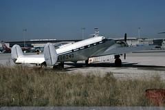 N96240 - Beech Expeditor 3TM - Euroworld - Madrid Bajaras - 17 November 78 (THE Graf Zeppelin) Tags: madrid spain beech barajas c45 expeditor beech18 n96240 19781117