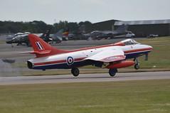 04th July 2010 RAF Waddington Airshow (rob  68) Tags: 04th july 2010 raf waddington airshow hawker hunter fga9 xe601 getps 41h679959 skyblue aviation ltd exeter apache france